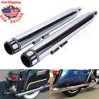 35 Slip On Mufflers Exhaust Pipes End Cap For Harley Touring Street Road Glide
