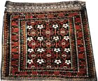 ANTIQUE BALUCHI VERY LARGE BAG FACE WITH MINA KHANI MOTIF (ORIENTAL RUGS)