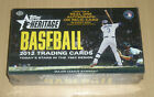 2012 Topps Heritage baseball factory sealed hobby box Trout first Heritage card