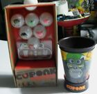 CUPONK GAME LOT Gorilla Cup and MORE BALLS Set APE CUP Ball Box GORILLANATOR NEW