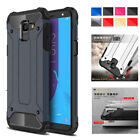 For Samsung Galaxy J6 2018 On6 Hybrid Rugged Armor Dual Protective Case Cover