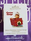 HALLMARK 2010 MERRY CHRISTMAS CURIOUS GEORGE READING A BOOK MIB