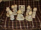 Precious Moments Lot of 8 Members Only Figurirnes Included