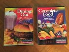 Weight Watchers Winning Points Complete Food  Dining Out Companion Book Set 00