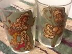 Peek A Boo  Juicers 1940-50 Two (2) Glasses