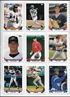 1993 Topps Traded Baseball Complete 132 Card Set In Sheets & Album