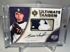 2006 Ultimate Collection Trevor Hoffman Brian Giles 1 1 1 Of 1 Logo Man Auto Wow