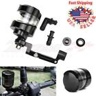 New Black Universal CNC Brake Tank Oil Fluid Reservoir Cup Motorcycle Sport bike