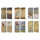OFFICIAL RACHEL PAXTON BIRDS LEATHER BOOK WALLET CASE COVER FOR MOTOROLA PHONES