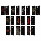 OFFICIAL SLIPKNOT KEY ART LEATHER BOOK WALLET CASE COVER FOR MOTOROLA PHONES