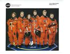 Space Shuttle STS 112 Atlantis Crew signed