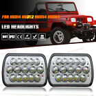 Projector LED Headlights HEADLAMP For 87 95 Jeep Wrangler YJ  84 01 Cherokee XJ