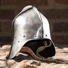 SALLET MEDIEVAL HELMET, 1.5 MM BATTLE READY barbute spartan