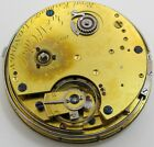 Mc Cabe repeater Pocket Watch Movement London, jeweled chain fusee * J. McCabe *