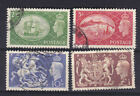 Great Britain 1951 Used FU Full Set Definitives King George VI Crest 2s 6d to 5s