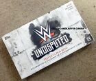 2018 TOPPS WWE UNDISPUTED WRESTLING HOBBY BOX FREE SAME DAY PRIORITY SHIPPING