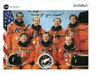 Space Shuttle STS 55 Columbia Crew Signed