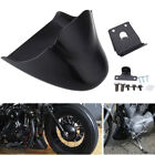 Chin Fairing Front Spoiler Black For Harley Sportster 883 1200  XL883C 2004-2014