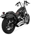 Vance  Hines Super Radius Chrome Exhaust 2006 2014 Harley Dyna Wide Glide FXDWG