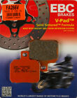 EBC Semi Sintered V Rear Replacement Brake Pad for Ducati 1098S Tricolore 2007