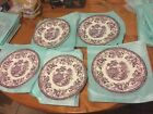 """royal staffordshire tonquin clarice cliff 10"""" Dinner Plates. No Chips No Hazing"""