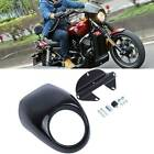 Headlight Fairing Front Cowl Fork Mount Black For Harley Sportster Dyna FX/XL