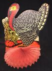 VINTAGE THANKSGIVING HONEYCOMB TURKEY CENTERPIECE