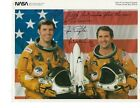 Space Shuttle STS 2 Columbia signed Crew photo