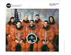 Space Shuttle STS 73 Columbia Crew signed