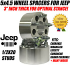 5x45 Wheel Spacers 3 Inch 1 2 20 Studs Forged Billet 75mm 5 lug 1143 Adapters
