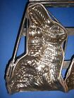 Antique Rabbit Chocolate Mold Candy Mold Double Easter Bunny Rabbit Metal Mold