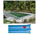 Buffalo Blizzard SLIT BLOCKER Rectangle Swimming Pool Winter Covers w Tubes