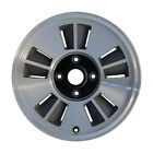 65650 Reconditioned 15X65 Alloy Wheel Flat Gray Silver Painted w Machined Face