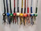 Get Back Whip With Pool Ball 42 Long x 2 Multiple Colors Stainless Steel Clamp