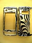 VERIZON LG EnV TOUCH VX 11000 ZEBRA FACES SNAP ON COVERS CASES NEW