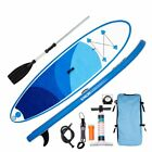 2018 10 Inflatable SUP Stand Up Paddle Board Package W Fin Paddle Pump Leash