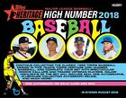 2018 TOPPS HERITAGE HIGH NUMBER HOBBY BOX - BRAND NEW - FACTORY SEALED (M)