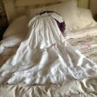 Vintage ,Hand Made Baby Special Occasion Dress Whitework And Lace