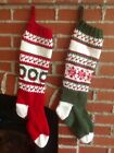 Personalized Hand Knit Christmas Stocking
