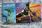 Lot of 3 Anne McCaffery Sci FI Fantasy novels Hardcover First Edition Print