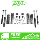 Zone Offroad 3 Suspension System Lift Kit 07 18 Jeep Wrangler JK 4 Door J13N