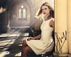 Lucy Fry Signed 11x14 Photo *Bright *11.22.63 *Mr Church *Model PSA AB92882