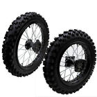 15mm 80 100 12 60 100 14 Tire Rim Front Rear Wheels 90cc 150cc Dirt Pit Bike