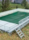 HPI Above Ground Mesh On Ground Safety Cover For Use With Kayak Pools
