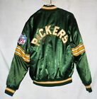 VINTAGE GREEN BAY PACKERS SATIN STYLE NFL JACKET BY SHAIN MAN'S SMALL