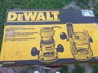 dwalt dw618pkb 12amp 2.25hp router fixted base and plunge base