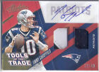 JIMMY GAROPPOLO 2017 Panini Absolute Auto 3-Color Dual Patch Tom Brady #d 12 49