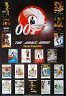 Filmposter USA 68x98: The James Bond Poster Collection, Checklist