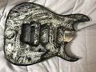Ibanez Jem Style guitar body MIJ Airbrushed Dipped Watch Video