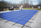 Loop Loc Blue Mesh Rectangle Swimming Pool Safety Covers Choose Size